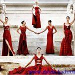 valentino kırmızı abiye modelleri