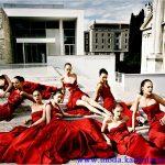 valentino kırmızı gece elbiseleri