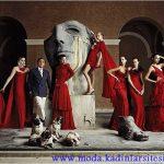 valentino kırmızılı gece elbiseleri tasarımları