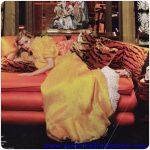valentino sarı gece elbisesi