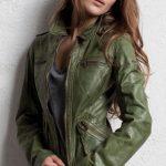 yeşi tarz deri ceket modeli