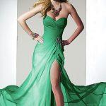 yeşil havalı abiye yeni model