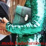 yeşil payetli ceket modeli