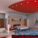 özel tasarım yatak odası modeli
