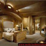 şık yatak odası modeli
