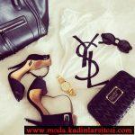 YSL ayakkabı çanta modeli