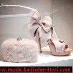 alexander mcqueen krem ayakkabı çanta modeli