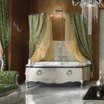 antika formlu lüx banyo modeli