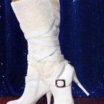 beyaz çizme modeli