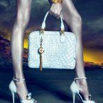 beyaz ayakkabı çanta modeli