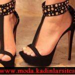 bilekli zımbalı ayakkabı modeli