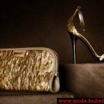 burberry dore çanta ve ayakkabı modeli