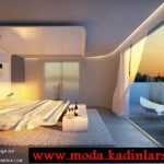 denize karşı yatak odası modeli