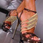 dore platformlu ayakkabı modeli