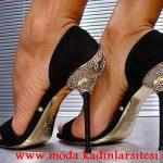 farklı topuk ayakkabı modeli