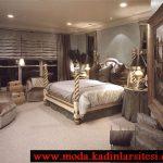 gri yatak odası modeli