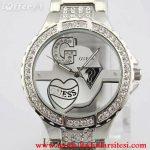 guess taşlı saat modeli