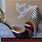 hasır örgü ayakkabı modeli