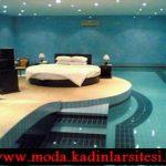 havuzlu yatak odası modeli