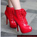 kırmızı bağcıklı bot modeli