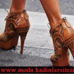 kahve rengi ayakkabı modeli