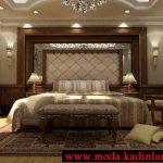 klasik yatak odası modeli