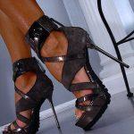 koyu vizon ayakkabı modeli