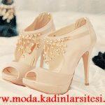 krem bot model ayakkabı