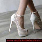 krem file ayakkabı modeli