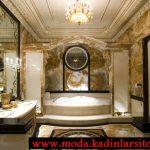 lüx mermer detaylı banyo modeli