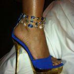 lacivert dore ayakkabı modeli