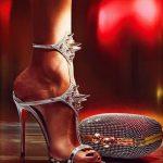 lame ayakkabı çanta modeli