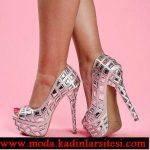 lame parlak ayakkabı modeli