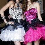leopar desenli gece elbise modelleri