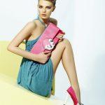 marcatelli fuşya ayakkabı çanta modeli