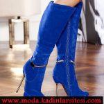 mavi nubuk çizme modeli