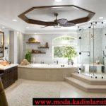 mobilya detaylı lüx banyo modeli