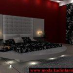 modern yatak odası modeli
