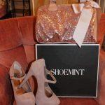 pudra pembesi ayakkabı çanta modeli