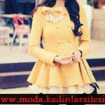 sarı trençkot modeli