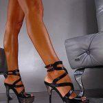 siyah farklı ayakkabı modeli