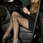 siyah mus çorap modeli