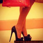 siyah sade ayakkabı modeli