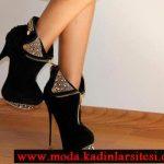 siyah zımbalı bot modeli
