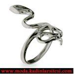 yılan figürlü yüzük modeli