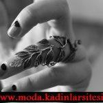 yaprak figürlü yüzük modeli