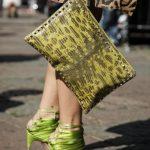 yeşil ayakkabı çanta modeli