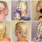 yeni trend bayan sarı saç şekilleri