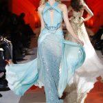 zuhair murad mavi abiye modeli