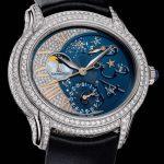 ay ve yıldızlar figürlü saat modeli